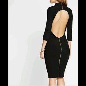 Express turtleneck black dress NWOT